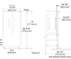 Refrigerator Size Bespoke Wine Cellar Cooler Dimensions