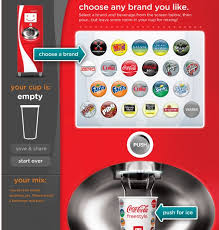 Home Coke Vending Machine Inspiration Coke Freestyle Makes Fountain Drinks Fun Again Gamification Co