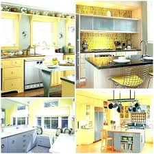 light yellow kitchen blue and yellow kitchen decor grey curtains decorating ideas light light yellow kitchen