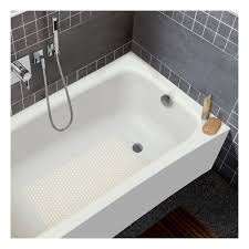 kaldewei 156 alpine white cayono 60 three wall alcove enameled steel soaking tub with left drain faucet com