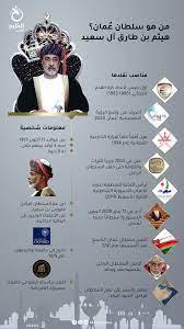 إنفوجرافيك.. من هو سلطان عُمان هيثم بن طارق؟