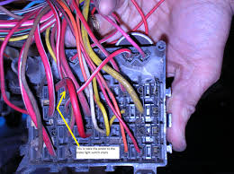 cj wiring harness identification questions page com in it could of been the old fuse socket was corroded and didn t make contact or simply the fuse was blown and he ran a new power line to the brake