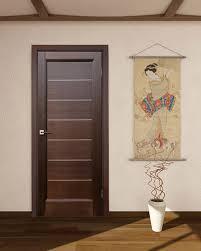 Lagoon Interior Door Wenge Finish Modern Home Luxury Classy Interior Home Doors