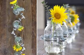 Decorative Jars And Vases Creating a Decorative Table Centerpiece of Mason Jar Vases 15