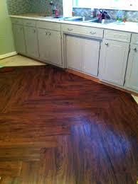 luxury vinyl plank cherry at tile stainmaster installation
