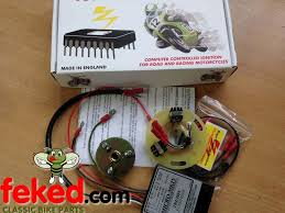 electrical ignition system electronic ignition electronic ignition system triumph bsa 3 cylinder boyer 12v