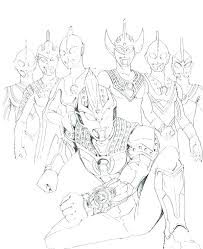 ultraman coloring book pages plus colori on ultraman coloring book best pages