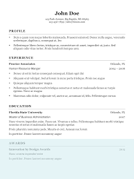 Resume With Picture Resume Templates