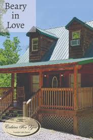 Beary In Love Is A Beautiful One Bedroom, One And A Half Bathroom Cabin  Rental Located In Pigeon Forge, Tennessee. | 1 2 Bedroom Cabins Tennessee  ...
