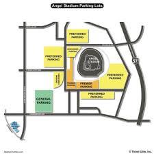 Anaheim Angels Stadium Seating Chart Map Of Los Angeles Angels Stadium Usa District Map