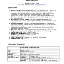 Quality Assurance Engineer Resume Sample Inspirational Best Ideas ...
