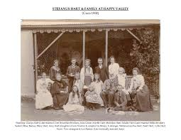 STEFANUS HART & family at Happy Valley (Circa 1900)