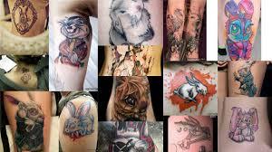 эскизы тату кролик клуб татуировки фото тату значения эскизы