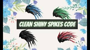 Look at this page for all the active and available fastest updated bloxburg codes 2021. Clean Shiny Spikes Code Clean Shiny Spikes Hair Code Id Codes