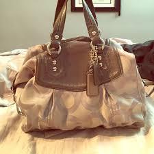 Coach Signature medium satchel