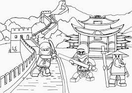 LEGO Ninjago Coloring Pages Free (Page 1) - Line.17QQ.com