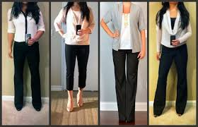 Wear To Work Style Guide Pants Work Pants Work Fashion