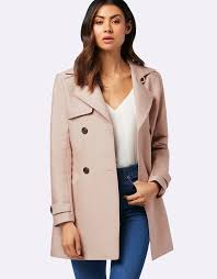 forever new tina trench coat navy for women
