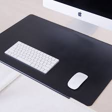 zhongnuo zhongtian table mats desk mats writing desk mats mouse pad large writing computer desk mats desktop waterproof work mats black buckle 45 70 cm