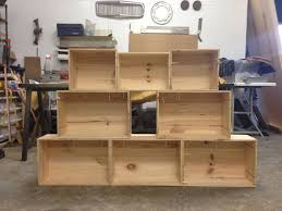 wood crate furniture. Picture Of Easy Shelves From Old Wooden Crates Wood Crate Furniture