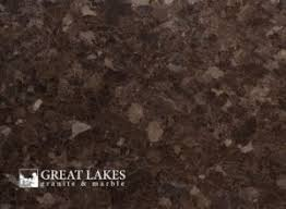 If you are planning to put brown countertops in the kitchen this stone would be a perfect fit for that. Coffee Brown Granite Great Lakes Granite Marble
