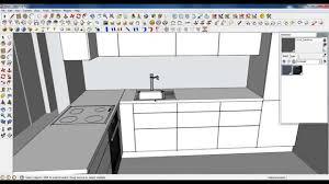 Kitchen Modeling Google Sketchup Tutorial Part 03 Kitchen Modeling Sink And Tap