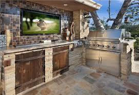 Amazing Outdoor Kitchen Ideas Grilling The Dream Contest Enchanting Wood Stove Backsplash Exterior