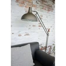 Lucide Vloerlamp Watsie Grijs In 2019 Vloerlamp Achter Bank