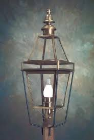 colonial boston style post lantern p103