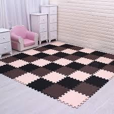 stylish practical boutique 9 pcs green eva puzzle anti fatigue anti fatigue interlocking foam floor mats ideas