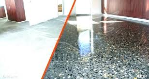 sanding concrete floor sanded concrete rs sanding r panies polishing services before after polished how to sand wet sand finished concrete patio how to r