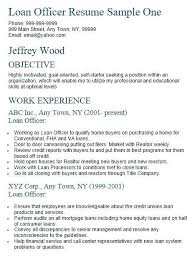 Resume Samples For Banking Professionals Mesmerizing Banking Loan Resume Simple Resume Examples For Jobs