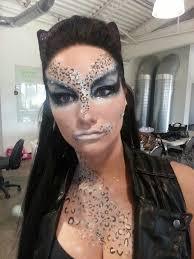 created for a tim burton photoshoot theme dinair airbrush glamour make up