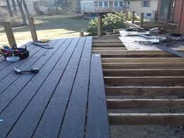 composite deck ideas. Fine Composite Imposing Composite Deck Ideas On Home Planning Installing Blue Decking Intended