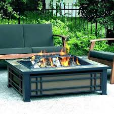 gas fire pit coffee table rectangle aus