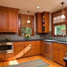 Creativity Kitchen Backsplash Oak Cabinets Find This Pin And More On By In Impressive Design