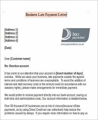 Delinquent Account Letter Template 11 Late Payment Letter Templates Word Google Docs Pages