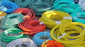 garden hoses big bunch of garden hoses in coils