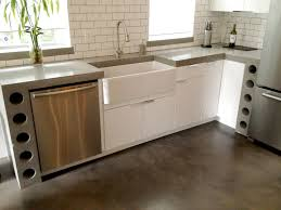 Concrete Floor Kitchen Flooring And Countertops
