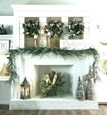 fireplace mantel decorating ideas for wedding