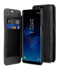 melkco premium leather case for samsung galaxy s8 face cover book type black lc