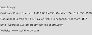Xcel Energy Customer Service Xcel Energy Number Xcel Energy Customer Service Phone