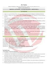 Doctor Sample Resumes Download Resume Format Templates