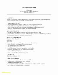 Cook Resume Sample Pdf Awesome 28 Chef Resume Builder Free Sample