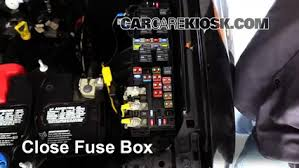 replace a fuse 2005 2012 ford escape 2008 ford escape xlt 3 0l v6 2005 ford escape fuse box guide 6 replace cover secure the cover and test component