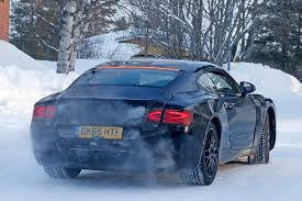 bentley new car releaseSpied allnew 2017 Bentley Continental GT sheds further camo by