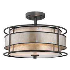 Flush Mount Kitchen Ceiling Light Fixtures Flushmount Lights Ceiling Lights The Home Depot Flush Mount