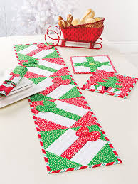 Start Quilting for Christmas with 21 Quilt Patterns Christmas ... & Christmas All Through the House Table Runner Pattern to Make Adamdwight.com