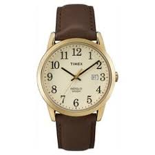 timex men s t26481 elevated classics stainless steel expansion men s timex easy reader watch leather strap gold brown tw2p75800jt