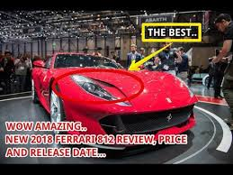 2018 ferrari 812 for sale. exellent ferrari 2018 ferrari 812 price u0026 release date on ferrari for sale